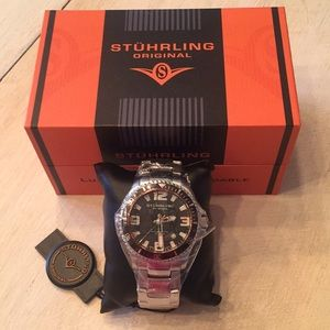 New in box Stuhrling Divers watch